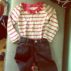 Adorable Gymboree toddler girls outfit